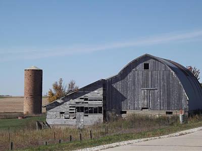 Photograph - Iowa Barn by Bonfire Photography