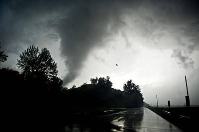 Iowa Point Tornado Art Print
