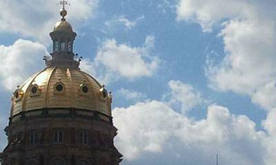 Photograph - Iowa State Capital Building 9 11 11 by Tim Donovan
