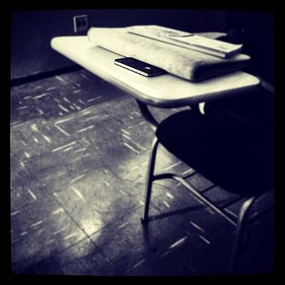 I Phone Photograph - #iphone #apple #school #friend #phone by Isabella Costa