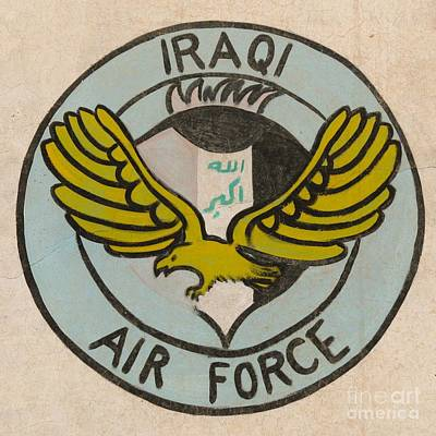 Iraqi Air Force Crest Art Print by Unknown