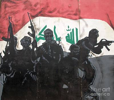 Iraqi Special Forces Art Print by Unknown