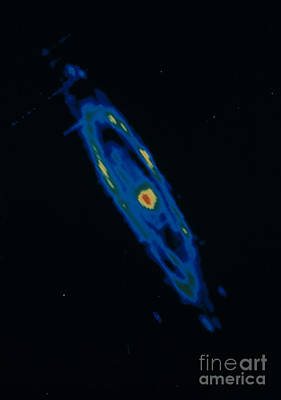 Iras Infrared Image Of The Andromeda Art Print by NASA / Science Source