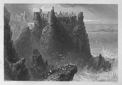 Ireland: Dunluce Castle Art Print by Granger