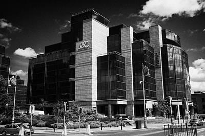 Irelands Ifsc International Financial Services Centre In Dublins Docklands Dublin City Centre Art Print by Joe Fox