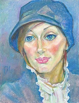 Irina Bondareva Art Print by Leonid Petrushin