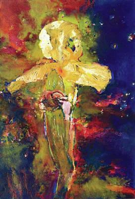 Iris Cosmic Print by Petro Beva