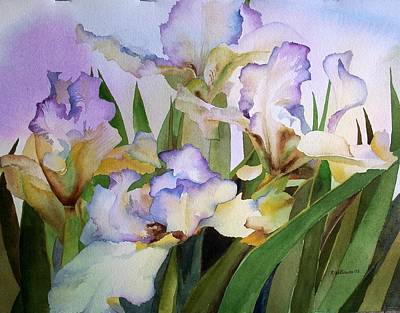 Painting - Iris IIi by Richard Willows