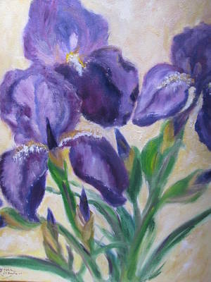 Painting - Iris by Jenell Richards