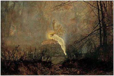 Grimshaw Painting - Iris by John Atkinson Grimshaw