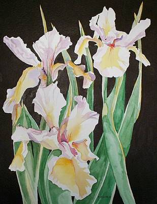 Painting - Iris  by Richard Willows
