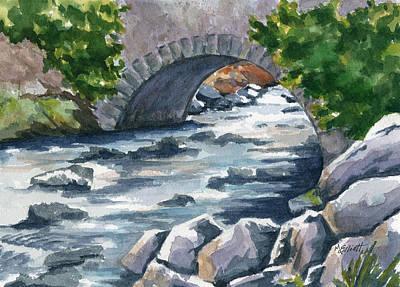 Irish Brook Original by Marsha Elliott