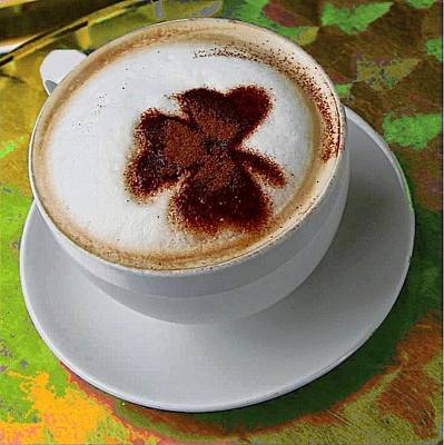 Digital Art - Irish Cappuccino by Carrie OBrien Sibley