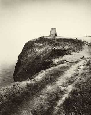 Photograph - Irish Coast Tower  by Linde Townsend
