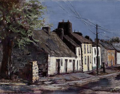 Irish Cottages Art Print