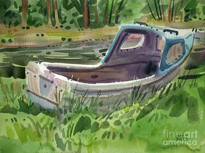 Painting - Irish Fishing Boat by Donald Maier