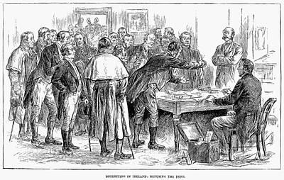 Irish Land League, 1886 Print by Granger