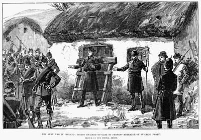 Irish Land League, 1887 Art Print by Granger