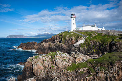 Photograph - Irish Lighthouse by Andrew  Michael