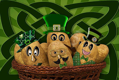 Photograph - Irish Potatoes by Trudy Wilkerson