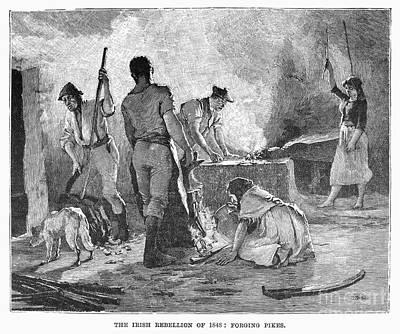 Irish Rebellion, 1848 Art Print