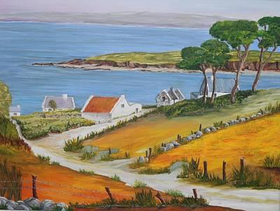 Painting - Irish Seaside Village by Siobhan Lawson