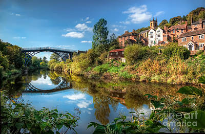 Iron Bridge 1779 Art Print