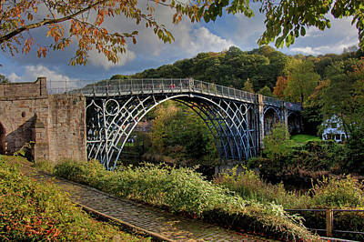 Iron Bridge Art Print