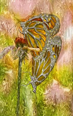 Iron Butterflys Art Print by Jack Zulli