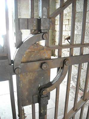 Photograph - Iron Gate Lock by Christophe Ennis