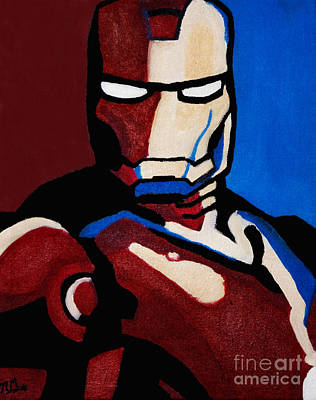 Painting - Iron Man by Barbara McMahon