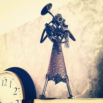Steampunk Photograph - Iron Musician by Korhan Gunsor