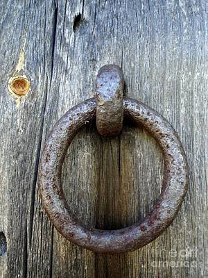 Photograph - Iron Ring by Kerri Mortenson