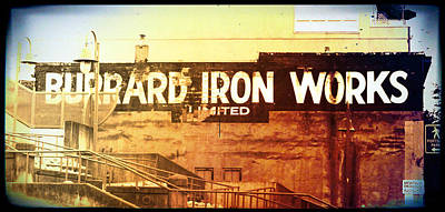 Photograph - Iron Works by Lauren Williamson