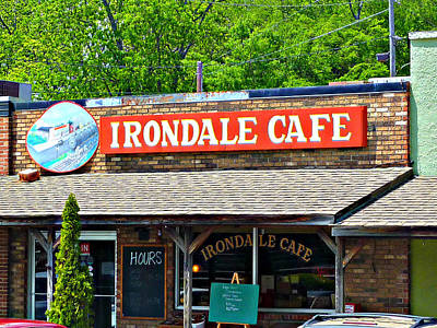 Irondale Cafe  Art Print