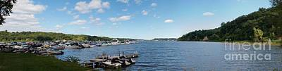 Photograph - Irondequoit Bay Panorama by William Norton