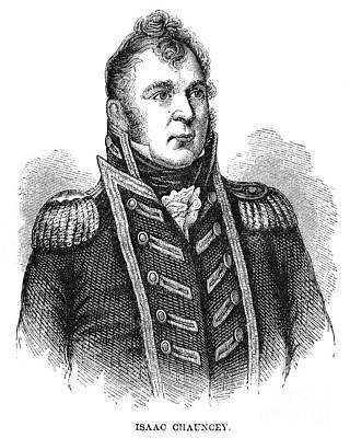 Chauncey Photograph - Isaac Chauncey (1772-1840) by Granger