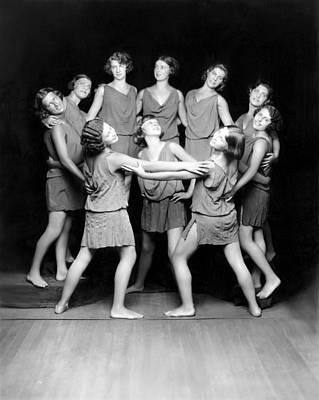 Isadora Duncan Photograph - Isadora Duncan Dancers, Ca. 1929 by Everett