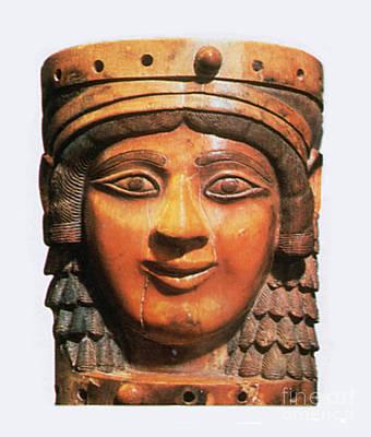 Ishtar, Babylonian Goddess Art Print by Photo Researchers