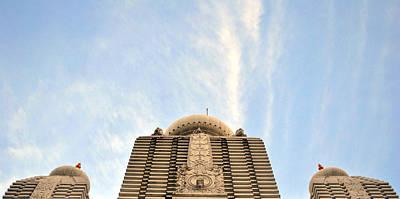 Photograph - Iskcon  Temple India by Sumit Mehndiratta