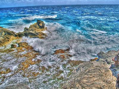 Isla Mujeres Iv Print by Jimmy Ostgard
