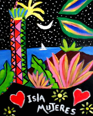Painting - Isla Mujeres Vlll by Ted Hebbler