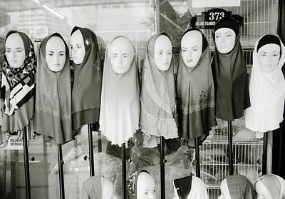Hijab Fashion Photograph - Islamic Mannequins by Shaun Higson