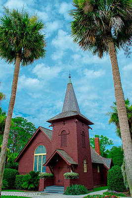 Photograph - Island Church by Shannon Harrington