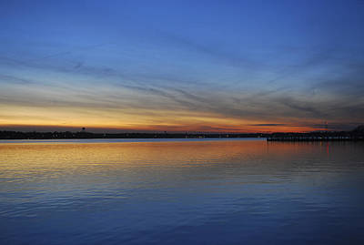 Photograph - Island Heights At Dusk by Terry DeLuco