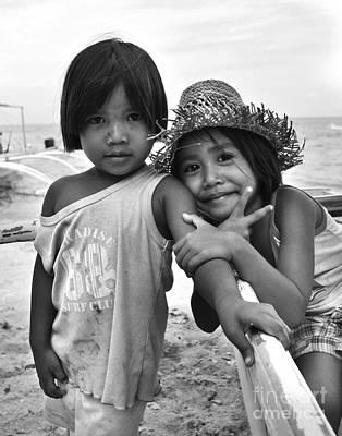 Photograph - Island Kids by Yhun Suarez