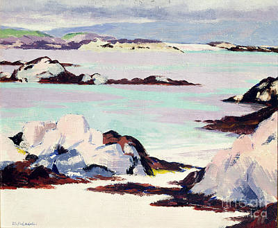 Impressionistic Beach Painting - Island Of Iona by Francis Campbell Boileau Cadell