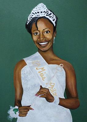 Painting - Island Queen by Angelo Thomas