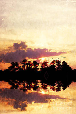 River Scenes Photograph - Islands In The Sky by Darren Fisher