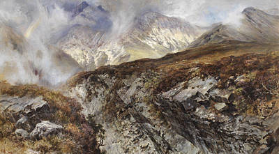 Mountain Painting - Isle Of Skye by Keeley Halswelle